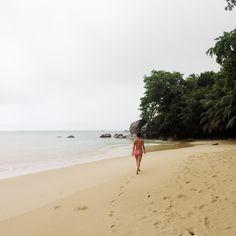 Rainy days on the perfect beach