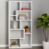 """Found it at AllModern - 71"""" Accent Shelves Bookcase"""