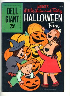 Image detail for -Little Lulu Halloween Fun 23 1959 Classic Cover | eBay