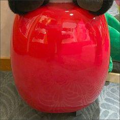 Plush Panda Ceramic Pedestal