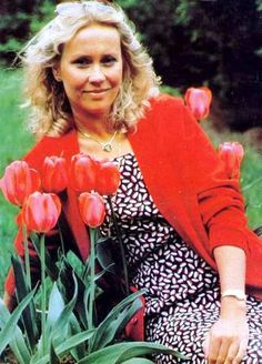 Agnetha Fältskog - I've loved this lady since I was a very young child. Always will.