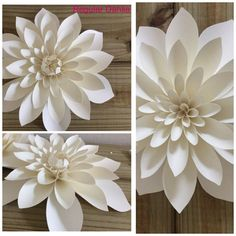 Large Paper Flowers 10 set of 20 by LovePaperBlooms on Etsy