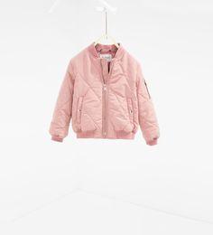 퀼티드 보머 재킷
