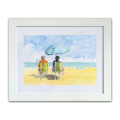 Paintings from the Fylde Coast, from Seaside Emporium Beach Art, Seaside, Coast, Paintings, Watercolor, Art Prints, Reading, Shop, Art Impressions
