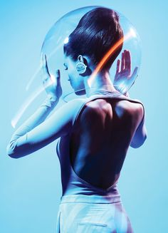 MODERN WEEKLY #1011 | TIME CONNECT WITH FUTURE by CHEUKLUN LO | 老焯麟 #fashion #editorial #futuristic