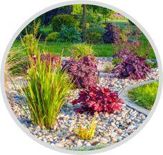 Steingarten gestalten und anlegen Garden Care, Natural Stones