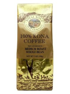 100 Kona Coffee Private Reserve Whole Bean 7 oz 4 bag value pack >>> Check out the image by visiting the link.