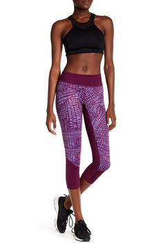 Block It To Me Crop Legging