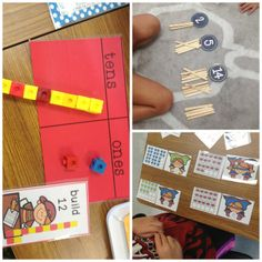 Math: How Do We Fit it All In?  Back to School Math Tubs