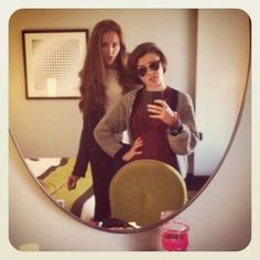 """Arya and Sansa taking a mirror pic: """"Game Of Thrones"""" Actors Doing Normal Stuff Is SoWeird Winter Is Here, Winter Is Coming, Acteurs Game Of Throne, Game Of Trone, Game Of Thrones Cast, Game Of Thrones Pics, Game Of Throne Actors, Intense Games, Mirror Pic"""