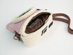 Crochet Diana Light Purple Purse Size 6.5 inch by meemanan on Etsy