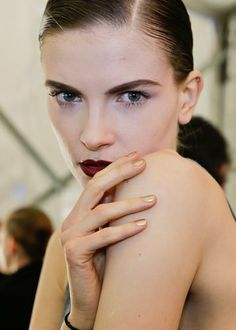 Naeem Khan Fall/Winter 2014 nails by Julie Kandalec for Essie
