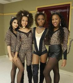 The Pussycat's Custom Leopard Outfits