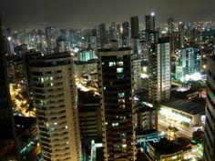 Vista do Recife a noite_Recife-PE-Brasil