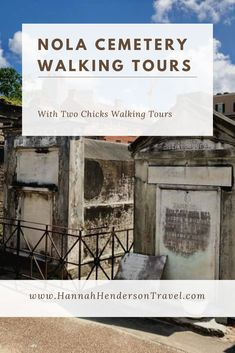 Here's a run-down of the NOLA cemetery tours offered by Two Chicks Walking Tours, plus a review our our experience on the 'Dead Sexy' walking tour. #WalkingTour #NewOrleans #NOLA