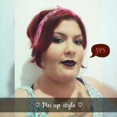 #pinup #hair #makeup #cabelo #maquiagem