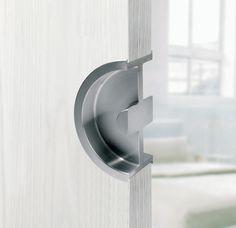 Round Pocket Door Pocket Doors, Windows And Doors, Door Handles, Hardware, Interior Design, Chant, Home Decor, Drawer Pulls, Firewood Holder