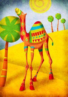 UAE Camel - Ruth Burrows