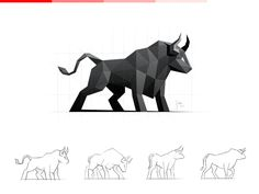 Bull | Logo Design on Behance