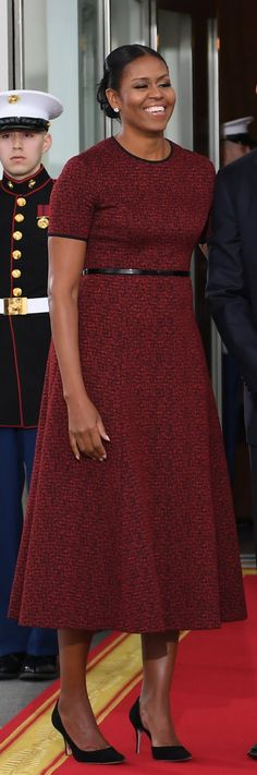 Michelle Obama in Jason Wu Jason Wu, Michelle Obama