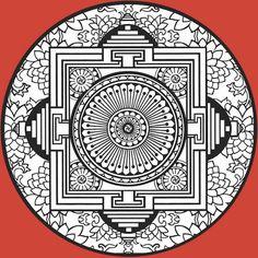 MATIN LUMINEUX: Mandalas