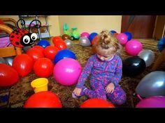 Surprize in Baloane/Video 0Educativ/Joc pentru Copii/Invatam Culorile - YouTube