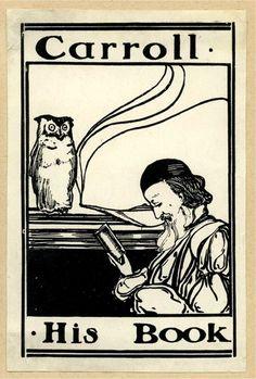 Lewis Carroll's bookplate