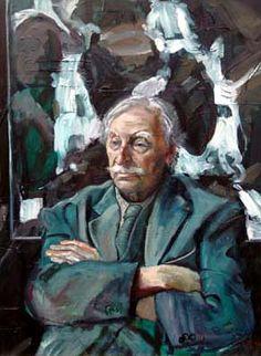 Sir Kyffin Williams (British: 1918-2006) - Self Portrait (1968)