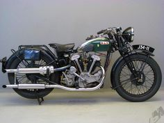 1934 j34-11 v-twin bsa - right