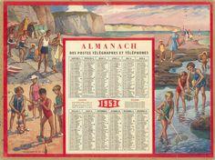 Almanach des Postes 1953