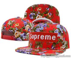 Supreme Snapback Flower|only US$8.90,please follow me to pick up couopons.