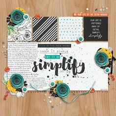 Every Day: Simplify bundle by Lauren Grier and Jenn Barrette CK Tween font