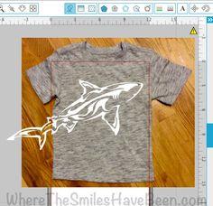 Envolvente de la tiburón camisa + la prensa del calor del sorteo! | Cuando se hayan las sonrisas