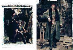 Yann Weber - Stylist - GALLIANO'S CINEMA - Cathleen Naundorf | Michele Filomeno