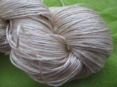 StickChick Etsy:  FINGERING Sea Silk,  Fingering Undyed Yarn, 70/30 Silk Sea Cell $28/100g