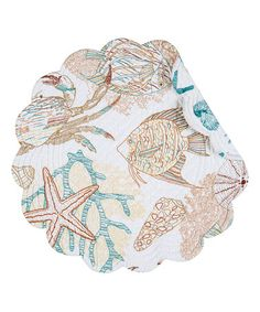 Loving this Key Biscayne Round Place Mat - Set of Six on #zulily! #zulilyfinds