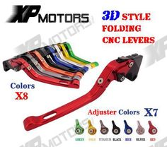 CNC 3D Feel Folding Brake Clutch Lever For Honda CBR1000RR Fireblade CBR1000 RR 2004-2007 CB1000R 2008-2015 CB1000 R NEW #Affiliate