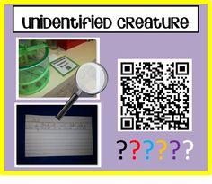 Unidentified Creatures using QR codes