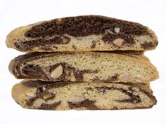 Marble Biscotti recipe the-way-the-cookie-crumbles Pastry Recipes, Baking Recipes, Cookie Recipes, Dessert Recipes, Italian Pastries, Italian Desserts, Italian Recipes, Biscotti Flavors, Biscotti Cookies