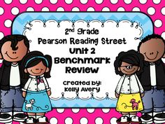 Does the 2nd Grade Pearson Reading Street series guide your reading lessons?  This engaging benchmark review was designed to help prepare your students for the Pearson Reading Street Unit 2 Benchmark test!  Click here to see what other 2nd grade Reading Street teachers have to say about this engaging reading resource and sit back and watch your students' benchmark scores increase!