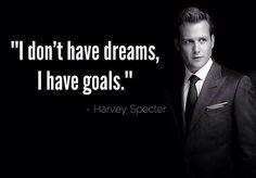 7) Benim hayallerim yok, hedeflerim var.