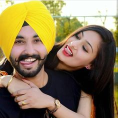 Very Cute Punjabi Couple Cute Couple Dp, Cute Couple Images, Cute Couple Cartoon, Couples Images, Sweet Couple, Wedding Couple Poses Photography, Wedding Couple Photos, Pre Wedding Photoshoot, Wedding Couples