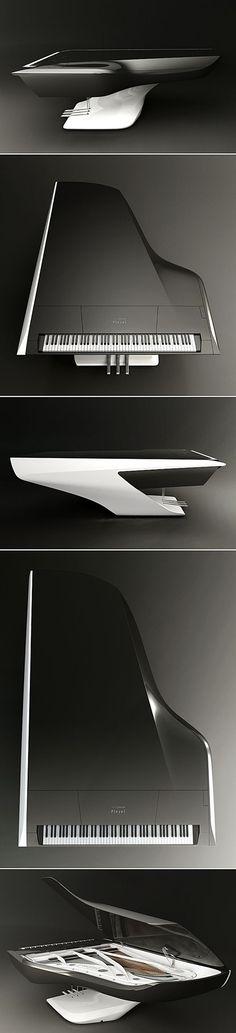 Futuristic Piano