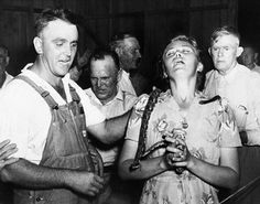"""Recent news included a story about a snake handling """"Pentecostal"""" preacher who… Appalachian People, Appalachian Mountains, Virginia Mountains, Old Pictures, Old Photos, Vintage Photos, Antique Photos, Azusa Street, Charles Fox"""
