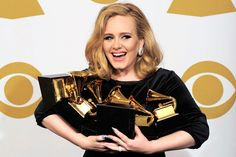 "Adele's ""21"" Sells 10 Million Copies and Goes Certified Diamond- http://getmybuzzup.com/wp-content/uploads/2012/11/2012AdeleGrammyAwards04PA130212.jpg-"