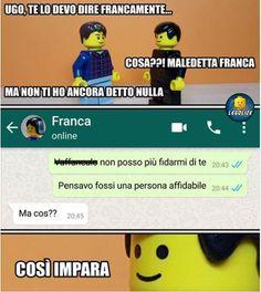 (notitle) #divertente-italiano  #divertenteitaliano #notitle Funny Images, Funny Photos, Verona, Italian Memes, Funny Stories, Deadpool, Hilarious, Jokes, My Love