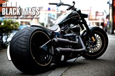 Harley Davison Black Mass
