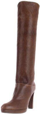 "Stuart Weitzman Women's Crushable Knee-High Boot Stuart Weitzman. $295.97. Rubber sole. Platform measures approximately 0.75"" . Made in Spain. Heel measures approximately 4"". Boot opening measures approximately 14.5"" around. Shaft measures approximately 21"" from arch. leather"