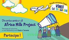 Vinci premi solidali con Africa Milk Project