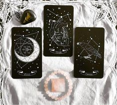 UM I LOVE THESE? A perfect combination of Tarot Ards and the constellations! Of course, I think it would be different constellations to the ones the uh. The Shammys use. Wiccan, Magick, Witchcraft, Oracle Tarot, Oracle Deck, Tarot Card Decks, Modern Witch, Tarot Spreads, Witch Aesthetic